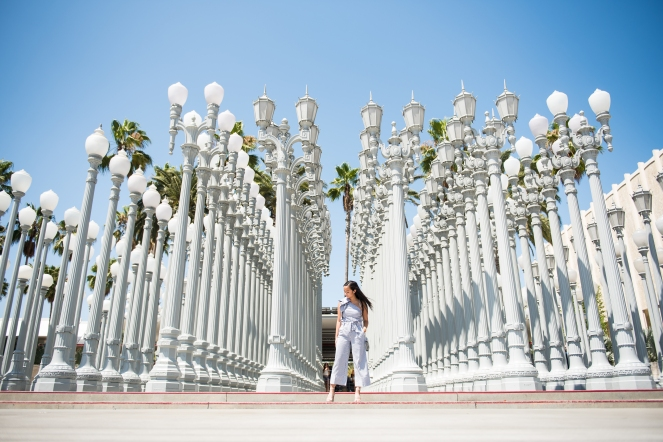 All of the lights monica san luis with literally days left in my la summer i finally made it to the lacma funny enough i just so happened to match the famous light poles mozeypictures Images